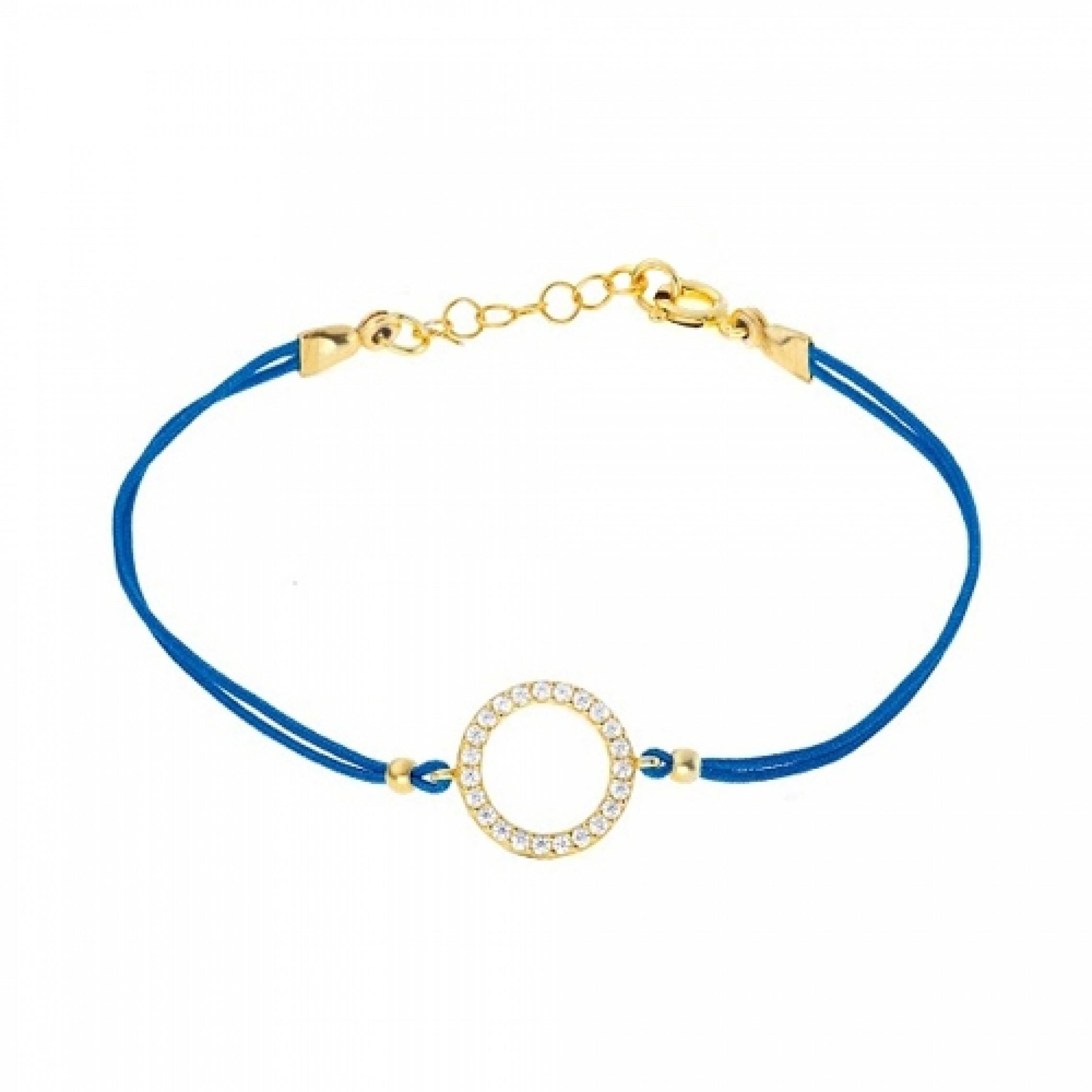 JB-180056 Evil Eye 925 Sterling Silver CZ Bracelet