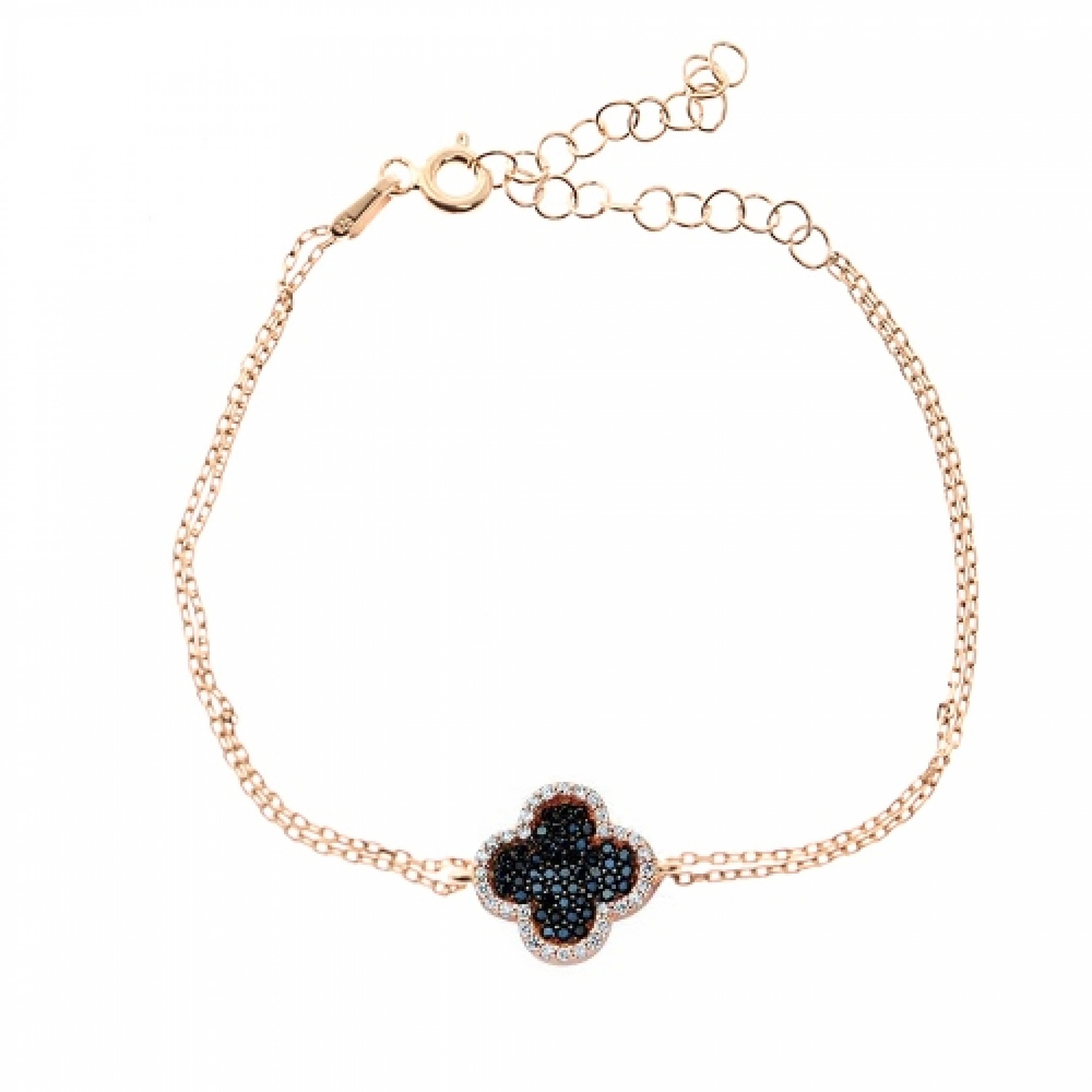 JB-180084 Evil Eye 925 Sterling Silver CZ Bracelet